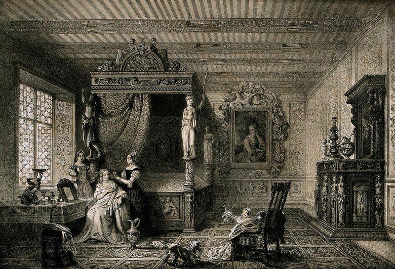 Roma Dönemi Yatak Odası